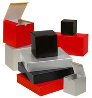"""Gloss Tuck 1 Piece Gift Boxes (6""""x4 1/2""""x4 1/2"""")"""
