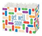 Small Get Well Soon Theme Gift Basket Box