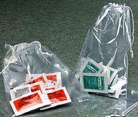 "2 Mil Polypropylene Double Drawstring Bags (4""x6"")"