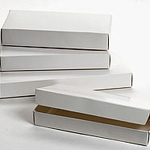 Custom Everyday 1 Piece White Candy Box (1 Lb.) (9 1/4
