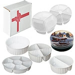 """Single Cavity Insert for Round Cookie Tin (8 1/8""""x3"""")"""