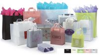 "Frosted High Density Pastel Collection Bags (16""x6""x19"")"