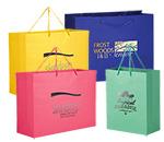 """Short Run Hot Stamp Rope Handle Euro Tote Bag (16""""x6""""x12"""")"""