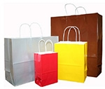 """Tints & Prints Paper Bags w/Twisted Paper Handle (5 1/4""""x3 1/2""""x8 3/8"""")"""
