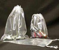 "1.5 Mil Polypropylene Double Drawstring Bags (3""x5"")"