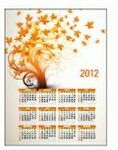 Stock Rectangle Schedule Magnet (4