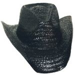 Custom Woven Straw Western Hat