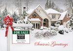 Custom New Joy Realtor Holiday Logo Cards