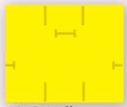 Monarch® 1115® Stock Yellow 2-Line Pricing Label