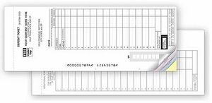 Maximum Entry Deposit Ticket Set