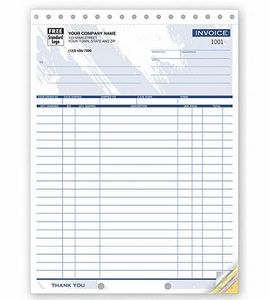 Color Collection™ Large Shipping Invoice Form (2 Part)