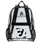 Custom Clear Stadium Backpack