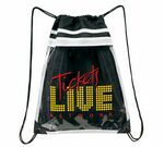 Ever Clear Drawstring Duffle Bag