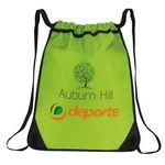 Rugged Clinch Drawstring Duffle Bag