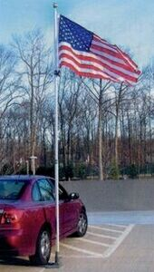 Promotional Product - Multi-Use Telescoping Residential & Tailgating  Flagpole (19')