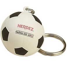 Custom Printed Soccer Ball Key Tags
