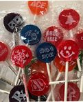 Custom California Lollipops Imprinted