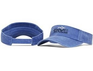 17624317 Pigment-Dyed Washed Cotton Visor - 515 - Swag Brokers