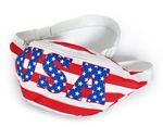 Custom Fanny Pack- USA Flag print