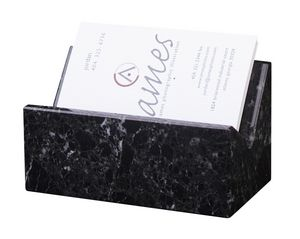Black Zebra Marble Business Card Holder Ch 102 Ideastage