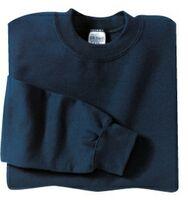 Gildan® Heavy Blend™ 9.3 Oz 50/50 Crewneck Sweatshirt (White 3X-Large)
