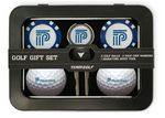 Custom 2 Ball Tin Gift Set w/Signature Divot Tool