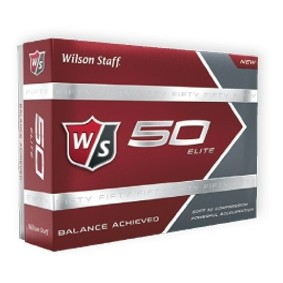 Wilson Staff® 50 Elite™ White Golf Balls