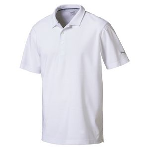 5a3adf92 Puma Pounce Aston Polo Shirt (Bright White) - 574612-12 - Brilliant  Promotional Products