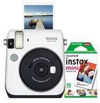Custom FujiFilm North America White Instax Mini 70 Camera Bundle