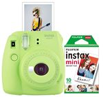 Custom FujiFilm North America Lime Green Instax Mini 9 Camera Bundle