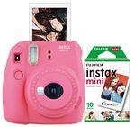 Custom FujiFilm North America Flamingo Pink Instax Mini 9 Camera Bundle