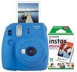 Custom FujiFilm North America Cobalt Blue Instax Mini 9 Camera Bundle