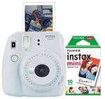 Custom FujiFilm North America Smokey White Instax Mini 9 Camera Bundle