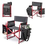 Custom Fusion Chair Deluxe Portable Extra-Comfort, Handy Sports/Camping Chair