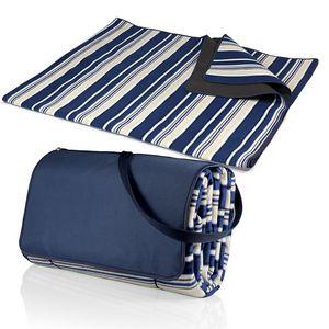 Blanket Tote XL Ex Large Picnic Blanket w/Shoulder Strap and Zipper Pocket