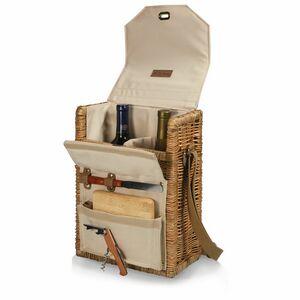 Corsica - Wine Basket w/Cheese Service & Corkscrew
