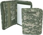 Custom Mercury Tactical Gear Zippered Padfolio