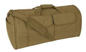 Custom Mercury Tactical Gear Garment Duffel Bag, Coyote