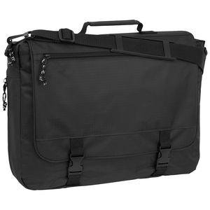Custom Mercury Luggage Portfolio Bag, Black