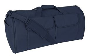 Custom Mercury Tactical Gear Garment Duffel Bag, Navy