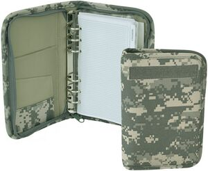 Mercury Tactical Gear Military Small Day Planner, ACU