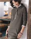 Custom Independent Trading Co. Women's Special Blend Hooded Pullover Dress