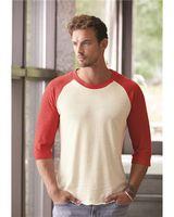 Alternative® Eco-Jersey™ Baseball Raglan Three-Quarter Sleeve T-Shirt