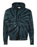 Custom Dyenomite Apparel Tie-Dyed Cyclone Hooded Sweatshirt