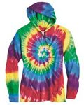 Custom Dyenomite Apparel Tie-Dyed Hooded Pullover T-Shirt