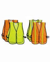 ML Kishigo® P-Series Lime Mesh Vest w/White Tape