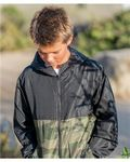 Independent Trading Co Youth Lightweight Windbreaker Full-Zip Jacket