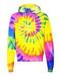 Custom Dyenomite Tie-Dyed Spiral Hooded Sweatshirt