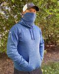 Custom J America Gaiter Fleece Hooded Sweatshirt