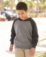 Independent Trading Co. Youth Special Blend Raglan Hooded Pullover Sweatshirt